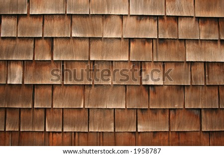 overlapping wooden tile background