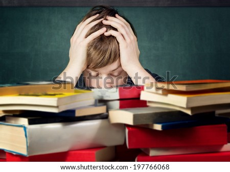 Overstrained - stock photo