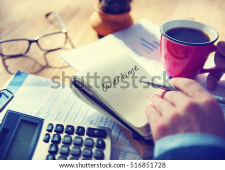 Overtime Pay Stock Images, Royalty-Free Images & Vectors