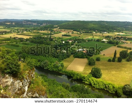 Overview - stock photo