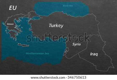 Overview crisis map turkey syria iraq stock illustration 346750613 overview crisis map turkey syria iraq lebanon greece eu gumiabroncs Choice Image