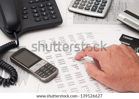 Overview of a financial analysis