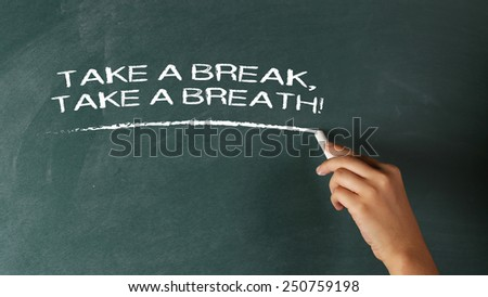 Overworked Overload Need a Break Concept - stock photo
