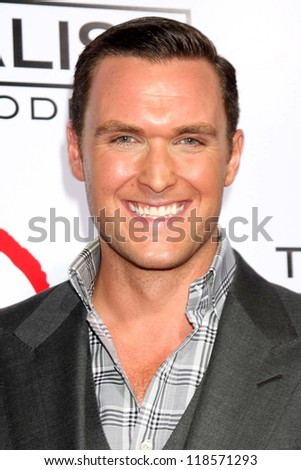 "Owain Yeoman at the CBS Celebration of the 100 Episodes Of ""The Mentalist,"" The Edison, Los Angeles, CA 10-13-12"