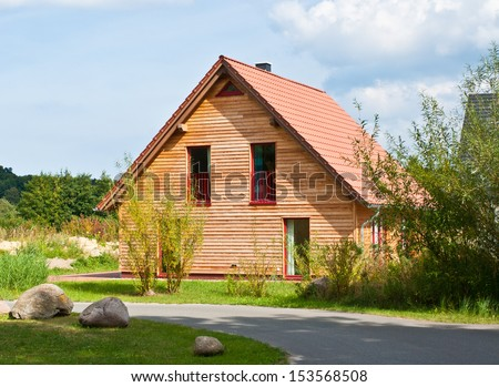 own home - stock photo