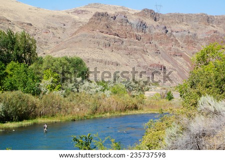 Owyhee Canyon, Oregon - stock photo