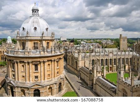 Oxford University - stock photo