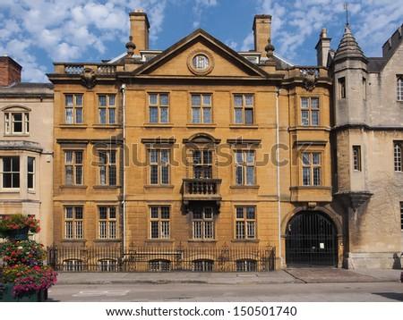 Oxford University, England - stock photo