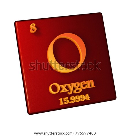 Atomic number 8 stock images royalty free images vectors oxygen chemical element number 8 of the periodic table of the elements 3d illustration urtaz Image collections