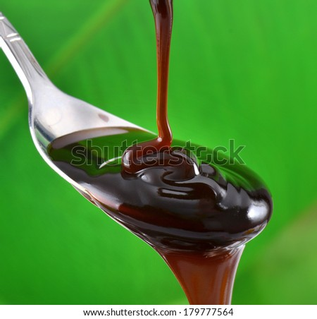 Oyster sauce - stock photo