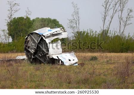 Péane wreck - stock photo