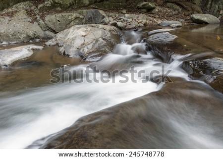 Pa-La-U waterfall Hua Hin, Thailand - stock photo