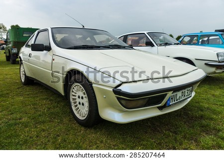 PAAREN IM GLIEN, GERMANY - MAY 23, 2015: Sports car Talbot Matra Murena, 1982. The oldtimer show in MAFZ.