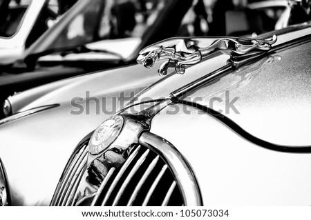 PAAREN IM GLIEN, GERMANY   MAY 26: The Emblem Of The Car Jaguar (
