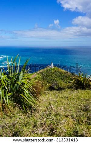 Pacific Ocean Lookout - stock photo