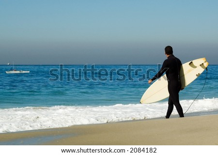 Pacific surfer