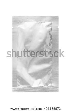 package on white background
