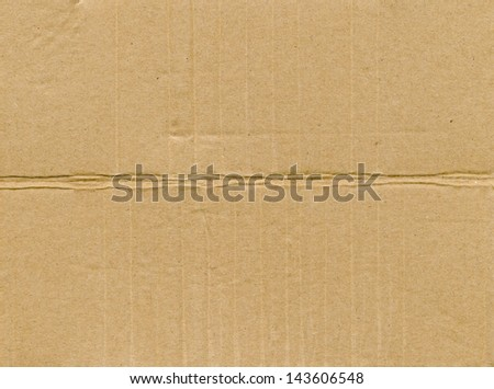 Packaging board - stock photo