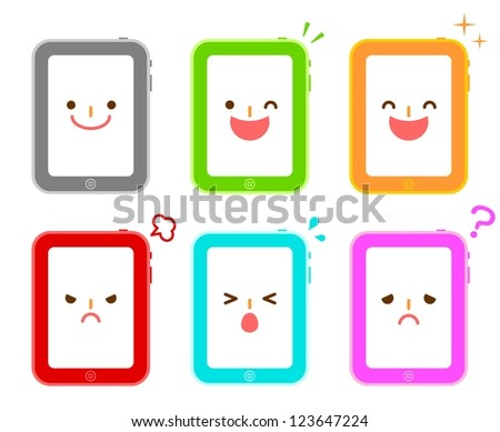 Pad character - stock photo