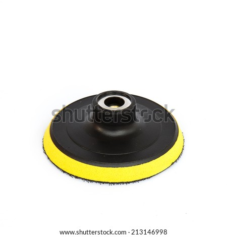 Pad holder isolated on white background