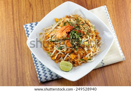 Pad-thai / Noodle - stock photo