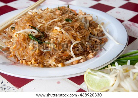 Padthai, Thai food