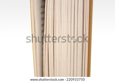 Pages of a book.