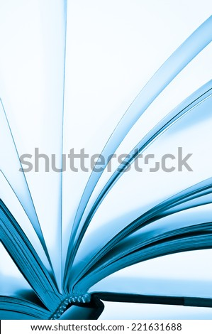 Pages of a book  - stock photo