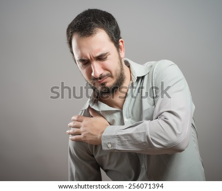 pain - stock photo
