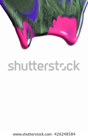 Paint  - stock photo