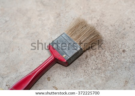 paint brush - stock photo
