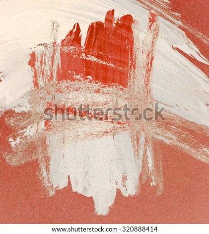 paint brush stroke texture background - stock photo