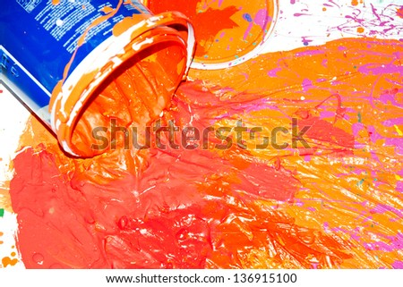 Spilled Paint Stock Images Royalty Free Images Amp Vectors