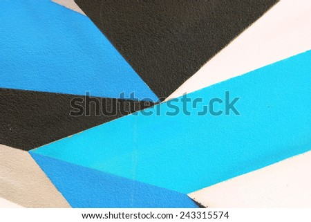 Paint the walls painted.  - stock photo