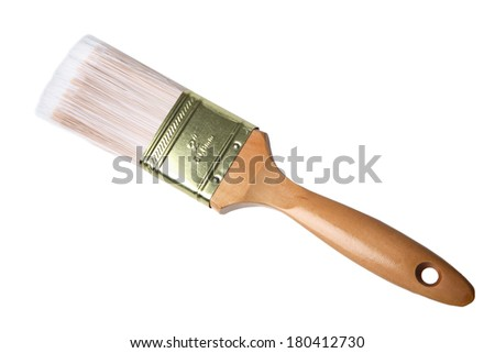 Brand new paint brush isolated on stock photo 548729311 for Best paint brush brands