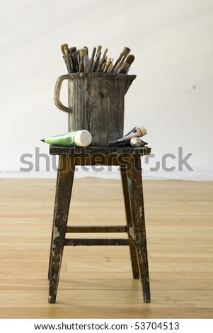 Paintbrushes - stock photo