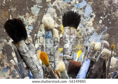 Paintbrushes - stock photo
