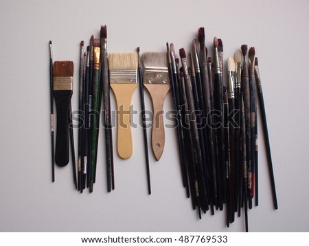 Paintbrushes Backgrounds