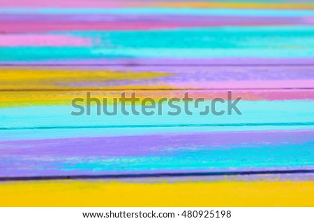 painted background on wooden