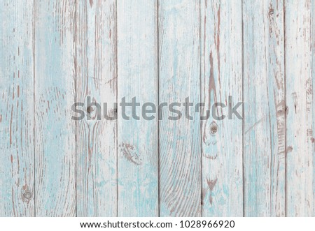 painted blue and white old wood texture background