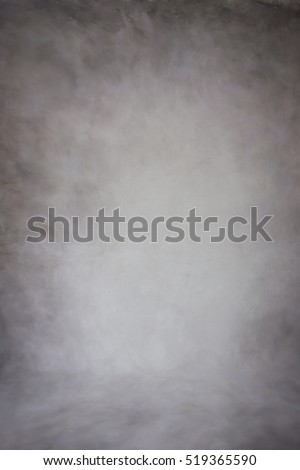Painted canvas or muslin cotton fabric cloth studio backdrop or background, suitable for use with portraits, products and concepts. Dark brown painted design, with darker edges.