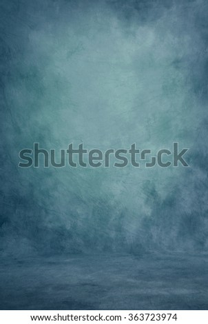 Painted cloth studio background of canvas or muslin, purple and pink dramatic color shades, floor area included, suitable for full length work. - stock photo