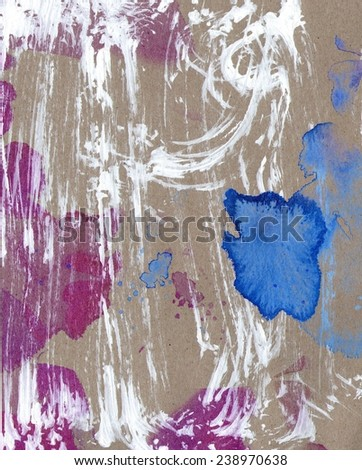 Painted grunge background - stock photo