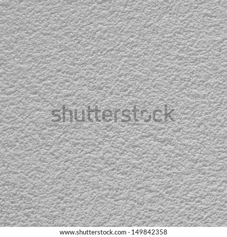Painted in light gray cement wall surface as abstract background texture - stock photo