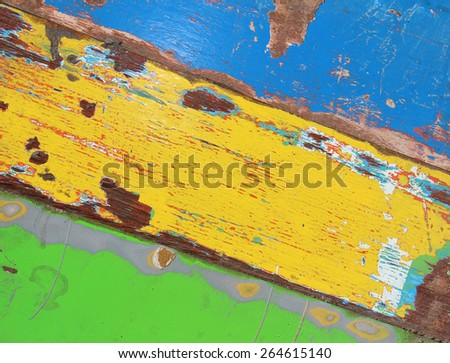 painted old wooden grunge texture - stock photo