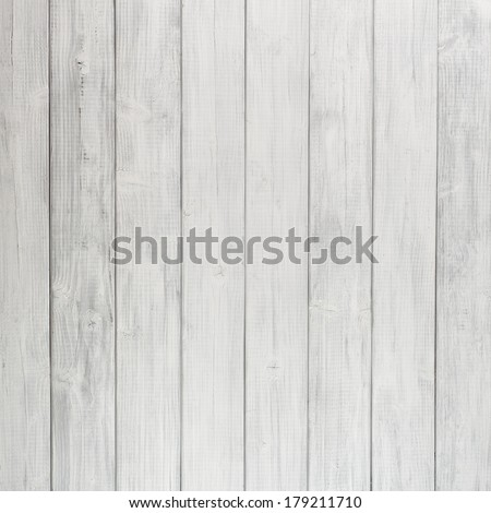 Painted Plain Gray or White Rustic Wood Board Background that can be either horizontal or vertical.   Blank Room or Space for copy, text, words.  Square crop.  - stock photo