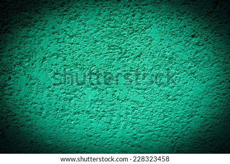 Painted sandstone wall. Vignette frame. - stock photo