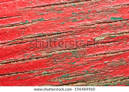 Painted wood aged texture. - stock photo