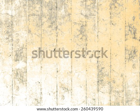 Painted wood background yellow - stock photo