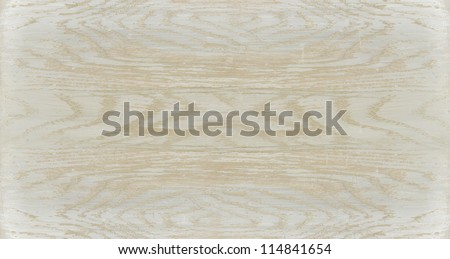Painted wood Driftwood white washed surface texture - stock photo